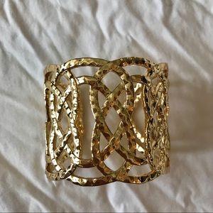 Lilly Pulitzer swirling sea cuff bracelet